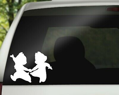 Chip and Dale Disney Decal Vinyl Sticker for Car Wall or Laptop