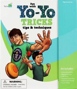 Fun-With-Yo-Yo-Tricks-Activity-Kit-New-in-Box