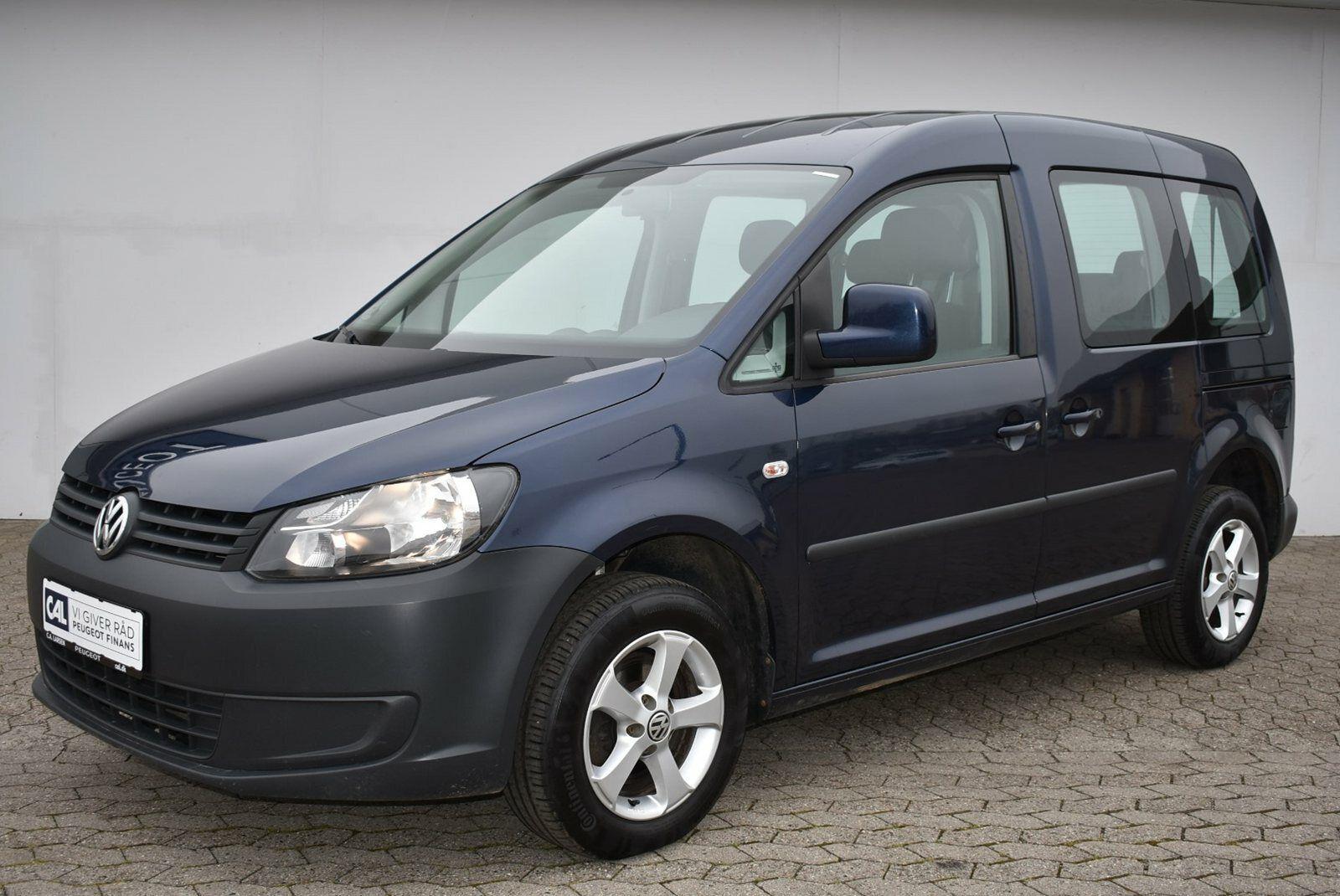 VW Caddy 1,2 TSi 85 Trendline 7prs 4d - 89.900 kr.
