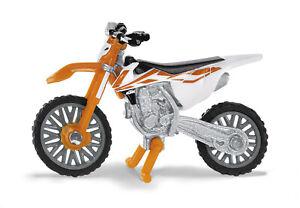 1391-Siku-KTM-SX-F-450-Miniature-Giocattolo-Modello-Diecast-Scala-1-87-3-ANNI