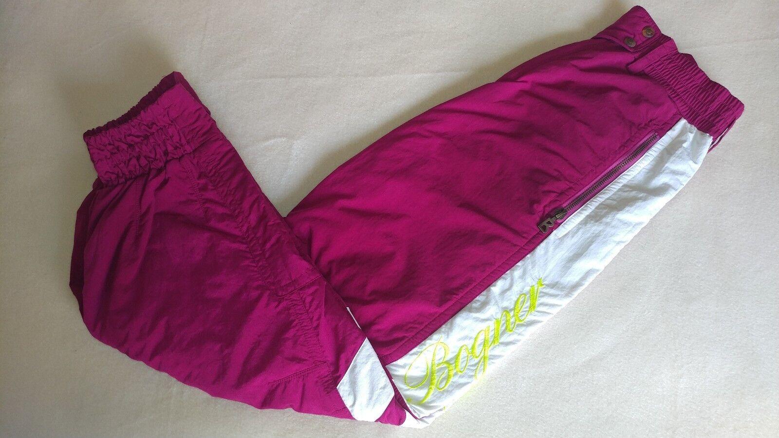 Vintage Bogner Women's Ski Pants Rare Embroidered Snowboard Sz 10 Top Condition