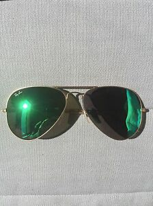 ray ban aviator sunglasses used  image is loading used men 039 s ray ban aviator sunglasses