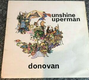 Donovan-Sunshine-Superman-Mono-LP-UK-1967-NPL-18181-VG-VG