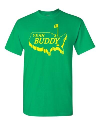 Yeah Buddy Tiger Woods Masters Winner Map of United States Men/'s Tee Shirt 649