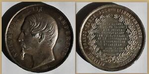 Medaille-Napoleon-III-1859-Frankreich-Alliance-Franko-Sarde-Geschichte-sf