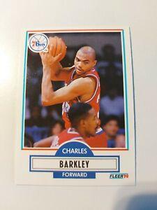 Charles Barkley Philadelphia 76ers 1990 Fleer #139 Basketball