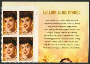 #4077 39c Judy Garland, Placa Bloque [S1111 Ur ], Nuevo Cualquier 5=