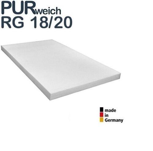 zertifiziert Matratzenauflage RG18//20 Schaumstoff Schlafkomfort Camping