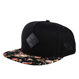 Blackskies-Black-Beauty-Vol-II-Snapback-Cap-Hat-Kappe-Muetze-Baseball-Floral