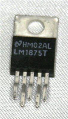 National Semi LM1875T 20 W Audio Amplificateur de puissance