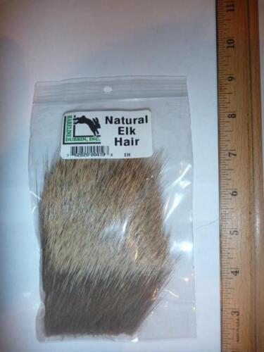 """ELK  Hair  /""""2 PACK SET/""""      1 Pack each Natural /& Bleached            Fly Tying"""