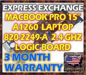 EXCHANGE-SERVICE-MACBOOK-PRO-15-034-A1260-820-2249-A-2-4GHZ-LOGIC-BOARD-661-4960