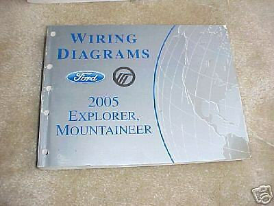 2005 Ford Explorer, Mountaineer Wiring Diagrams | eBay
