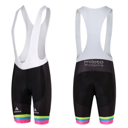 Women/'s Cycling Spandex Bib Shorts Coolmax Padded Bike Bicycle Bib Shorts S-5XL