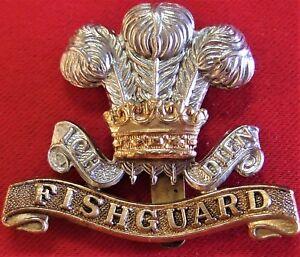 WW2-BRITISH-ARMY-PEMBROKE-YEOMANRY-HUSSARS-UNIFORM-CAP-BADGE
