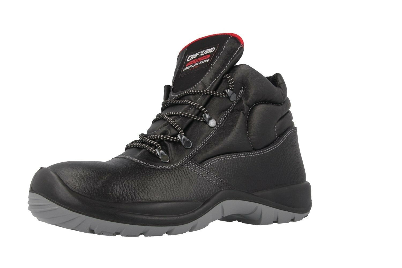 CRAFTLAND - Herren Sicherheits botas S3 Übergrößen - Negro Zapatos in Übergrößen S3 90d700
