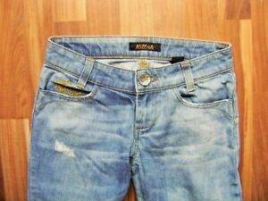Killah-Jeans-blau-Risse-Size-XS-Gr-34-W25-L30-GB-8