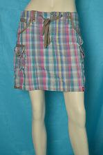 jupe EDC by ESPRIT  T 32 soit 38/40  fr vichy multicolore