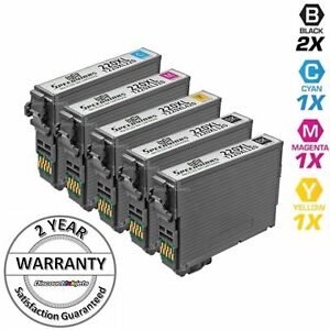 5-Pk-Ink-Cartridges-for-Epson-220-XL-T220-WorkForce-WF-2630-WF-2650-WF-2660