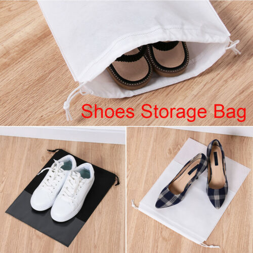 Sports Accessories Dust-proof Storage Bags Drawstring Shoes Pouch Non-woven