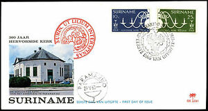 Suriname-1968-Reformed-Church-FDC-First-Day-Cover-C35518