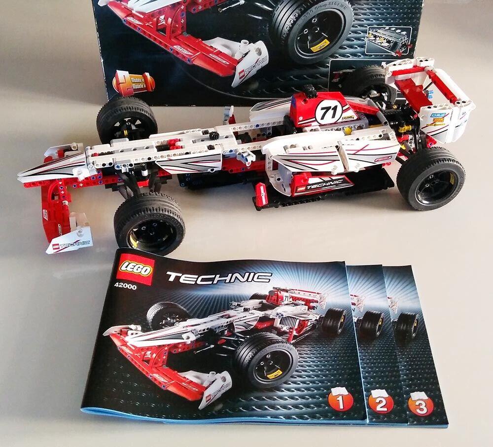 Lego Technic 42000 Grand Prix Racer, completa con instrucciones y caja, Raro