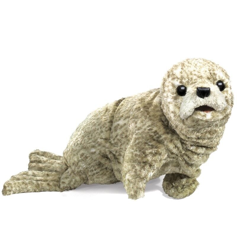 HARBOR SEAL Puppet USA  FolkmanisPuppets