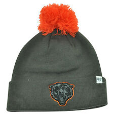 7c652c139 item 4 NFL  47 Brand Chicago Bears Justus Charcoal Pom Cuffed Knit Beanie  Skully Toque -NFL  47 Brand Chicago Bears Justus Charcoal Pom Cuffed Knit  Beanie ...