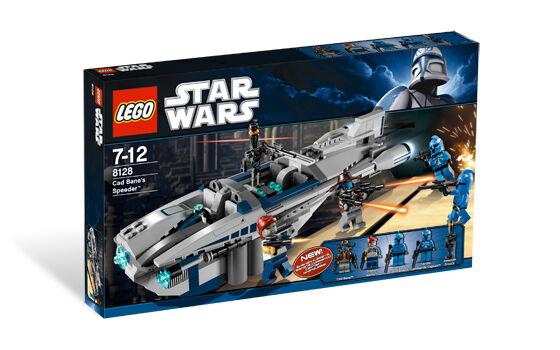 LEGO 8128 Cad Bane's Speeder - 2010 Star Wars - New In Box - Sealed - RetiROT