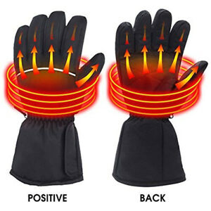 Finger Hand Back Heated Battery Heating Electric Rechargeable Gloves