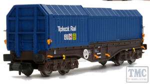 4f-039-006 Dapol Oo Telescopic Hood Wagon Tiphook Rail Blue 33 70 0899 032-3