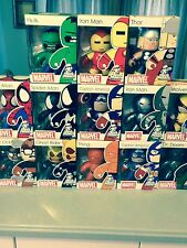 Marvel Muggs Series 1, 2 and 3 MIB  13 total figures