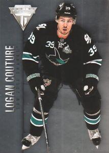 2013-14-Panini-Titanium-Hockey-58-Logan-Couture-San-Jose-Sharks