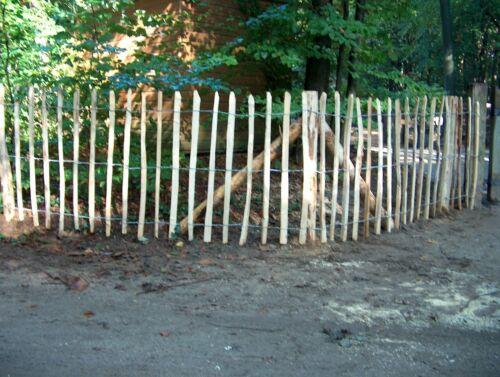 englischer Staketenzaun Edel-Kastanie 105 cm H x 5 m L Natur-pro-Kastanie®