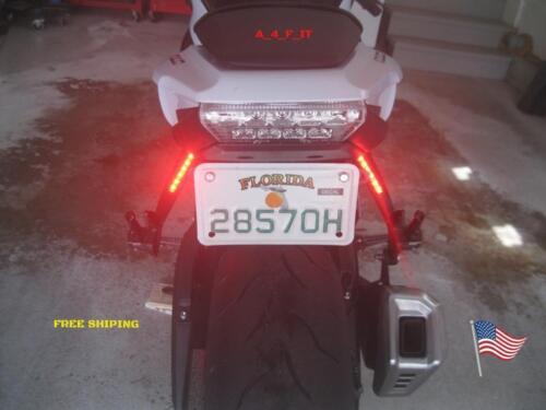 Motorcycle Led Red Tail Brake Signal Running Light 12V