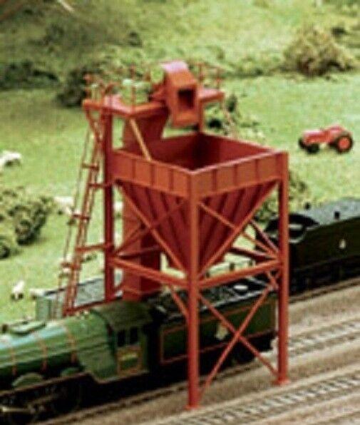 Ratio 247 - Coaling Tower - N Gauge Plastic Kit - Tracked 48 Post