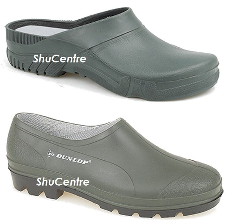 Waterproof Rain Gardening Shoes Clogs Garden Wellies Dunlop Green Rubber Summer Wellies Garden c25268