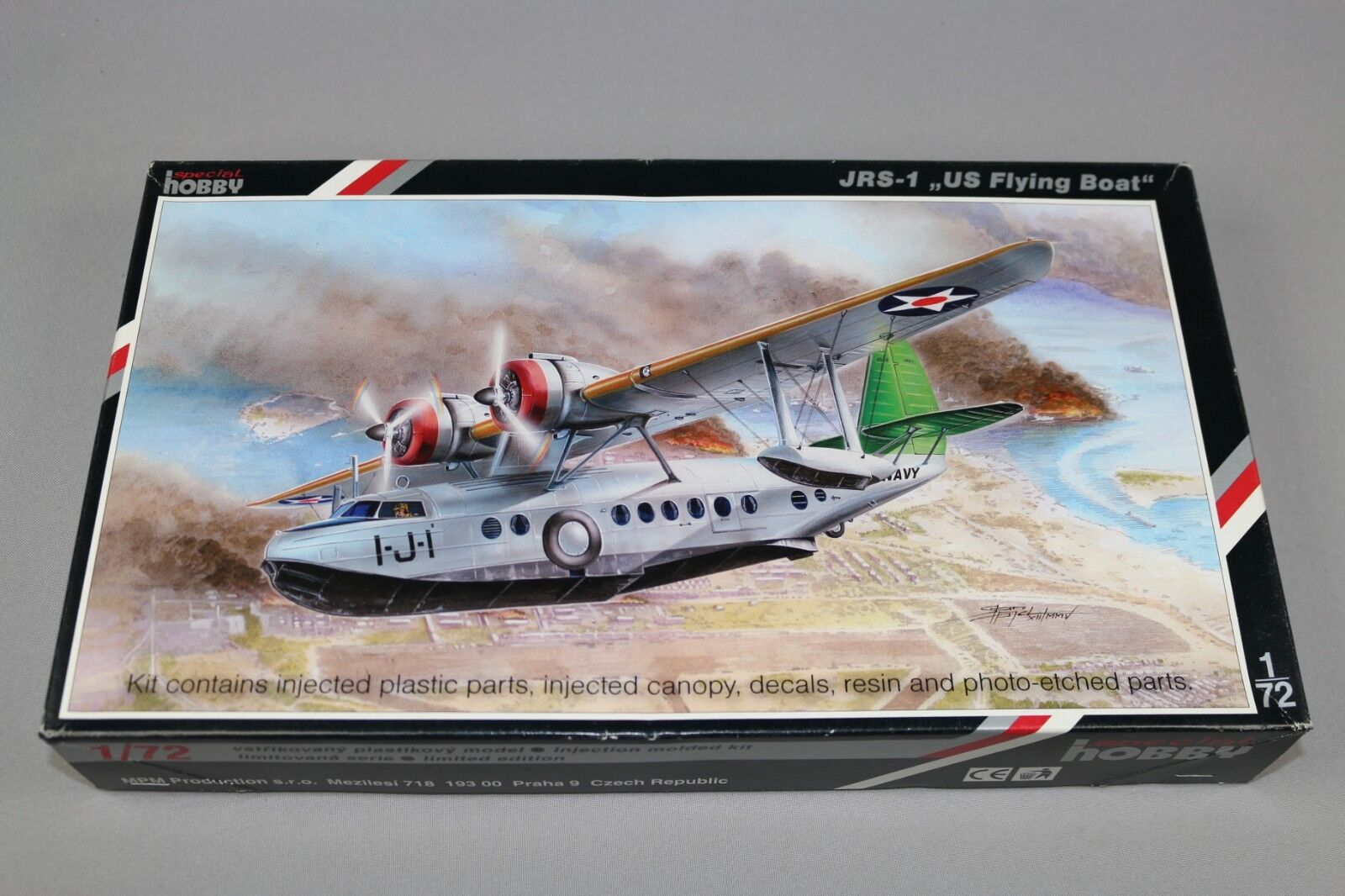 Zf647 Hobby Special 1 72 Model Aircraft Sh72111 Jrs-1 Us Flying Boat