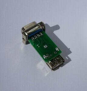Commodore-Amiga-Atari-ST-USB-9-pin-Mouse-Adapter-A500-A600-A1200-A4000-CD32