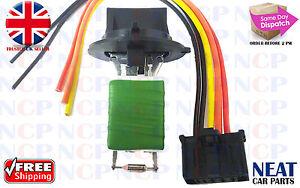 PEUGEOT-307-HEATER-BLOWER-MOTOR-RESISTOR-AND-WIRING-LOOM-CONNECTOR-REPAIR-KIT