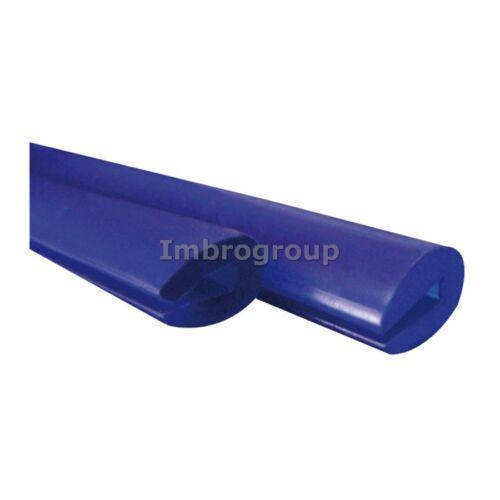 Coppia Salvaporta protezione portiera Scroll XL Gomma BLU Universale 85cm BBROS