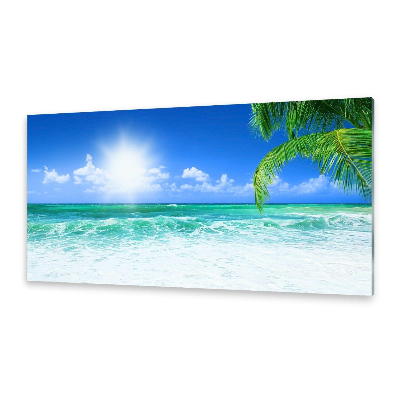 Acrylglasbilder Wandbild aus Plexiglas® Bild Strand Himmel