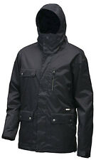 QUIKSILVER Men's DRIFT SOLID Snow Jacket - BLK - Medium - NWT