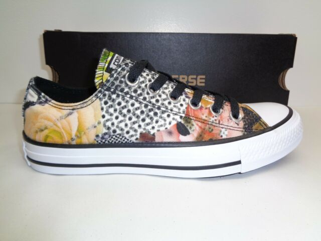 89537e0d0022 Converse Size 7.5 DIGITAL FLORAL OX Canvas Fashion Sneakers New Womens Shoes