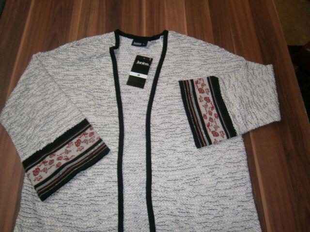 Damen Jacke Cardigan Gr. 40 Farbe : Mehrfarbig    ( a2 A2 )