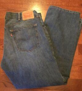 denim Levi 559 bleu Red 32 de Tab jambe Levis taille Levi's 38 pour hommes X en Strauss Jeans CqH5gg