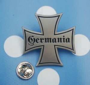 Germania-Eisernes-Kreuz-Militaria-Abzeichen-Pin-Button-Anstecker-TOP-176