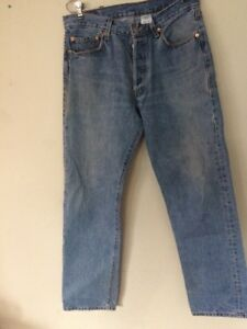 VTG-LEVIS-501-BUTTON-FLY-JEANS-SIZE-34x34