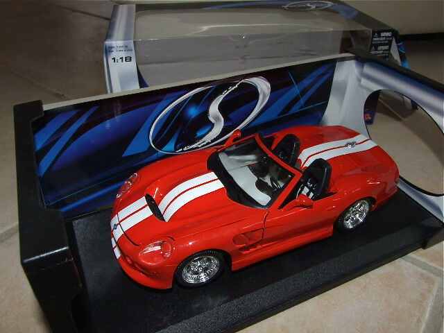 SHELBY SERIE 1 Rouge & Blanc MAISTO 1 18
