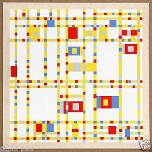 Piet Mondrian Broadway Boogie Woogie Original Limited Ed ...